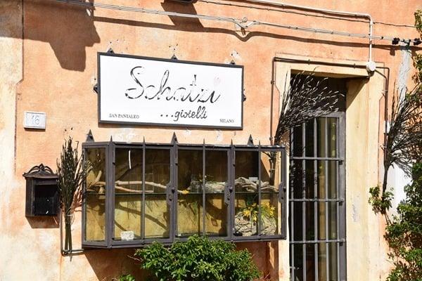 Künstlerdorf San Pantaleo Palau Sardinien Italien