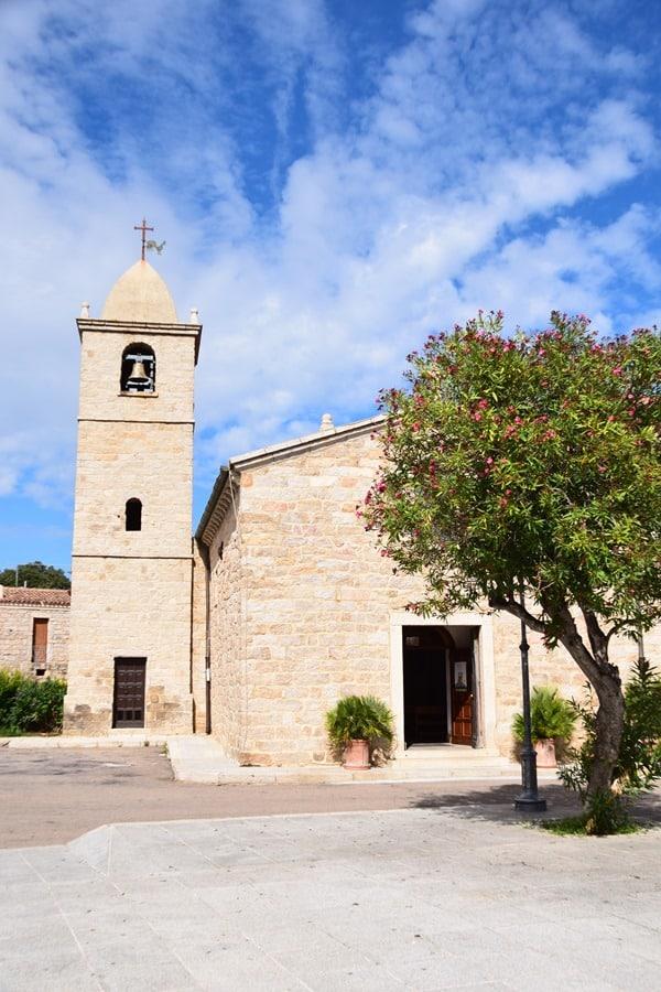 San Pantaleo Pfarrkirche Palau Sardinien Italien