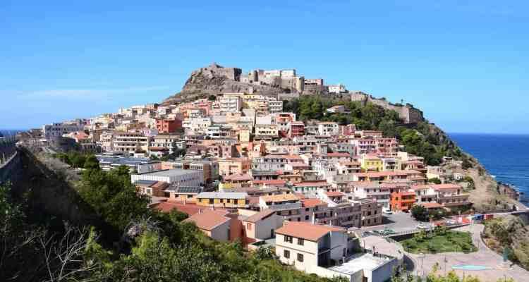 000 Castelsardo Sardinien Italien