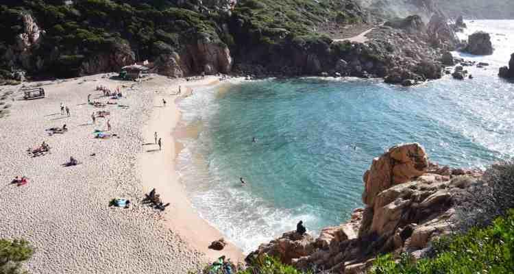 Strand Li Cossi Costa Paradiso Sardinien Italien