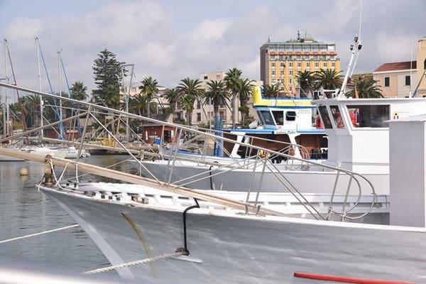 Hafen Alghero Sardinien Italien