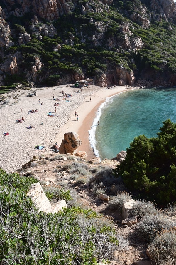Traumstrand Li Cossi Costa Paradiso Sardinien Italien