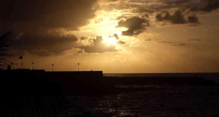 00 Sonnenuntergang Teneriffa Kanaren Spanien