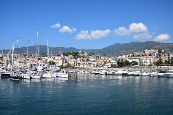 Whale Watching Hafen San Remo Blumenriviera Ligurien Italien