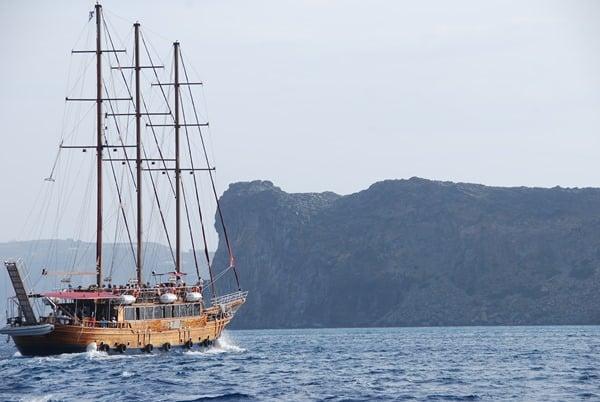 Bootsausflug Santorini Urlaub Kreuzfahrt Sehenswürdigkeiten Kykladen Griechenland