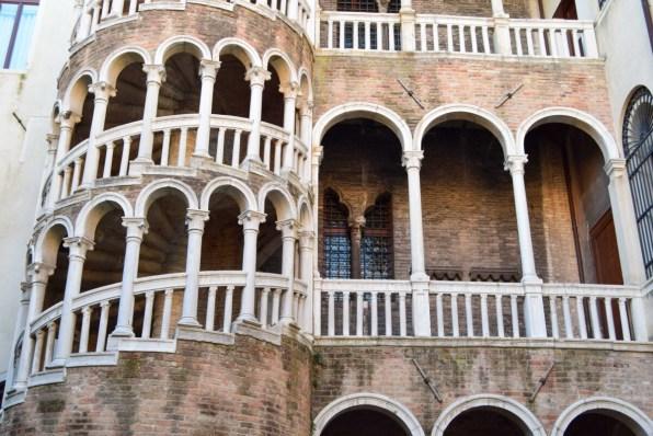 Venedig Schneckenturm Palazzo Contarini Minelli dal Bovolo