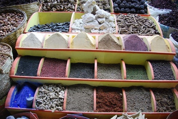 Nilkreuzfahrt Markt in Assuan Ägypten Urlaub