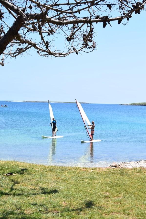 08_Windsurfen-Naturpark-Kap-Kamenjak-Istrien-Kroatien