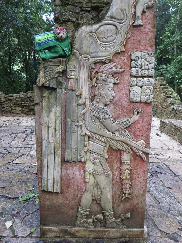 Palenque Mexiko Sehenswürdigkeiten Inschriften Maya Stätte Jack Bearow