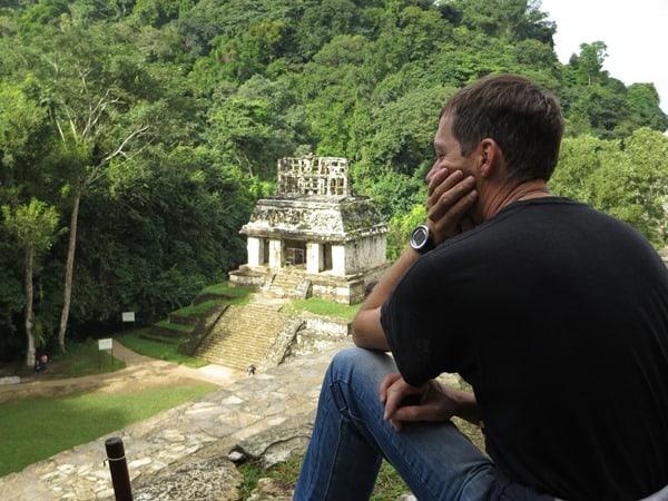 Palenque Mexiko Sehenswürdigkeiten Aussicht Sonnentempel Maya Stätte