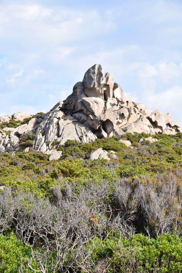 La Maddalena Sardinien Felsen Landschaft Nationalpark Italien Mittelmeer