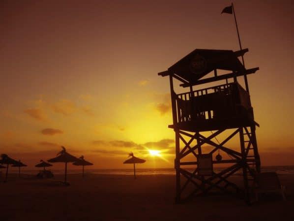 Sonnenuntergang-Strand-Boa-Vista-Kapverden