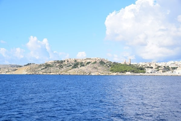Gozo Malta Wandern Sehenswürdigkeiten Fähre Mgarr Hafen