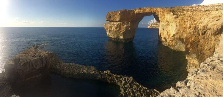 Azure Window Gozo Malta Panorama