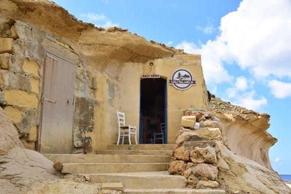 Gozo Malta Wandern Sehenswürdigkeiten xwejni salt shop Salz Meersalz