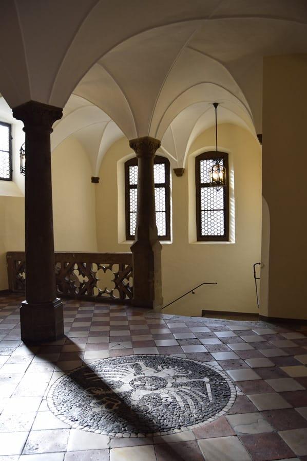 Regensburg Sehenswürdigkeiten Vorraum Altes Rathaus Document Reichstag Altstadt Bayern