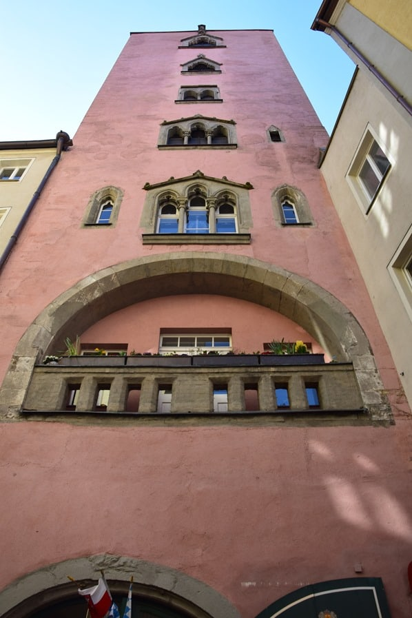 Regensburg Sehenswürdigkeiten Baumburger Turm Dampfnudel Uli Städtereise