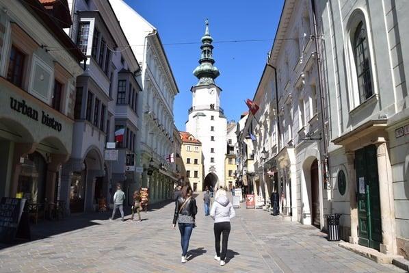 Michaelertor Altstadt Braitslava Slowakei flusskreuzfahrt donau kreuzfahrt
