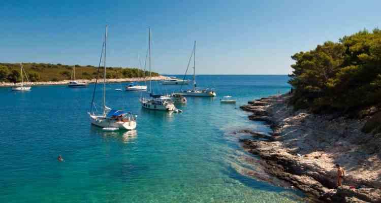 Urlaub Click and Boat Boot Bucht Kroatien