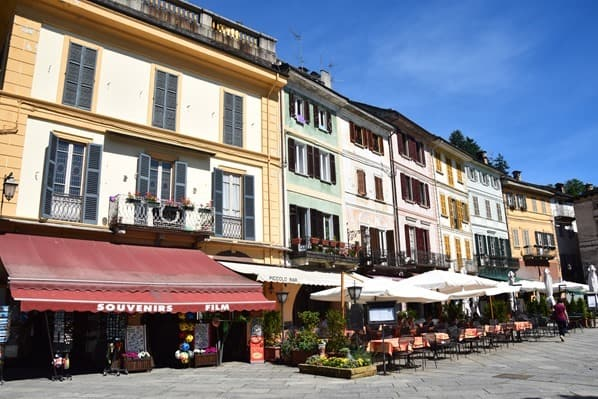 Orta San Giulio Altstadt Lago Di Orta Ortasee Piemont Italien
