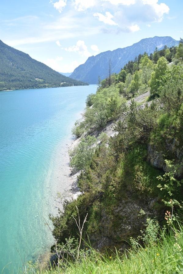 Gaisalm Achensee wandern karibikblau Tirol Österreich