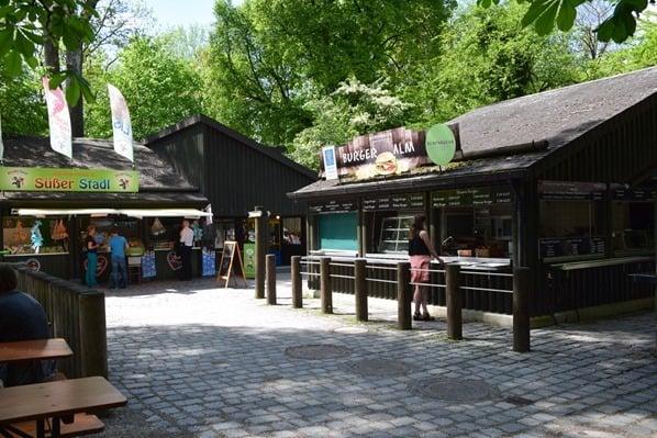 Restaurant Burgeralm Tierpark Hellabrunn Zoo Muenchen
