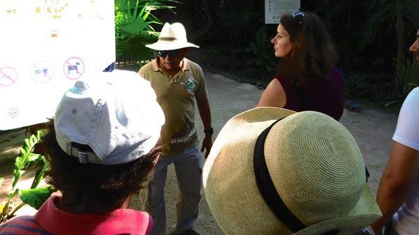 Tourguide Tulum Mexiko Maya Tempel Karibik Yucatan