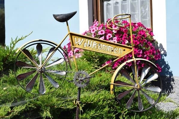 Impressionen Drauradweg Radfahrer Willkommen Kärnten Österreich