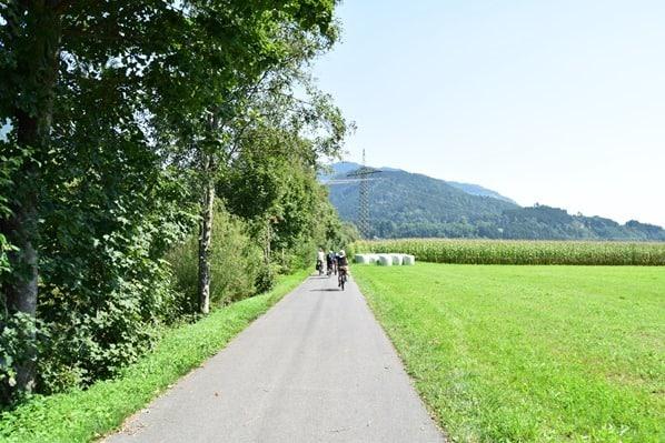 Drauradweg e-bike radfahren radeln Erfahrungsbericht Kärnten Österreich