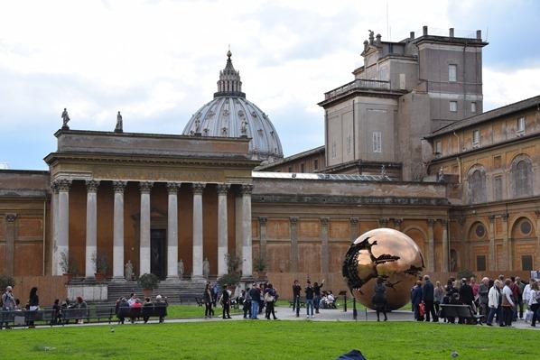 Vatikan Vatikanische Museen Rom Garten Italien