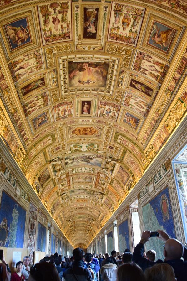 Vatikan Vatikanische Museen Rom Galleria delle carte geografiche Italien