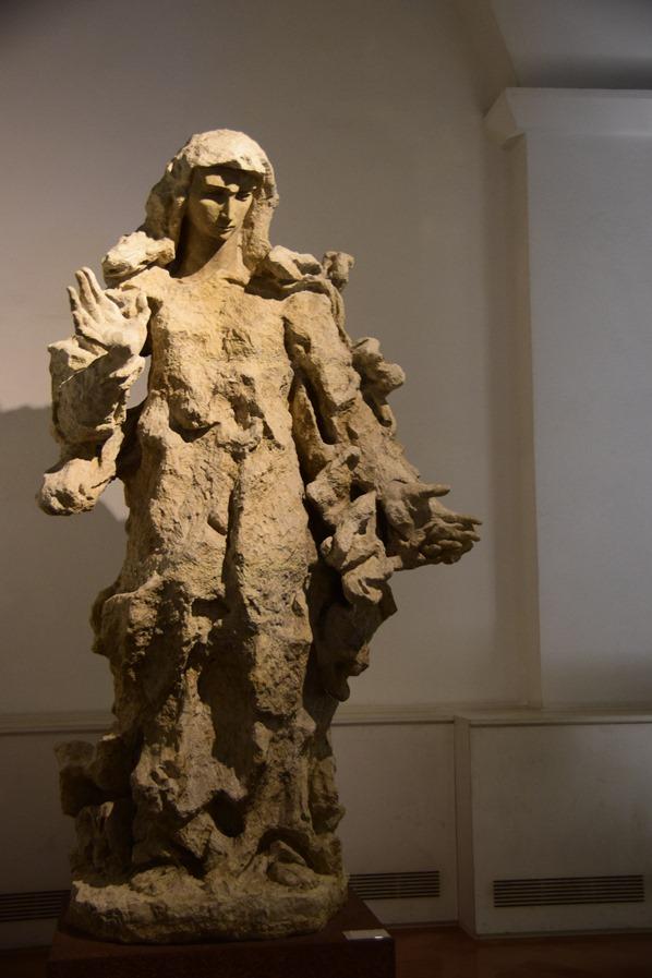 Vatikan Vatikanische Museen Rom Zeitgenössische Kunst Statue Italien