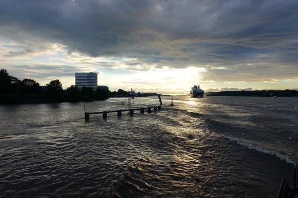Hamburg Hafenrundfahrt Elbe Nordsee