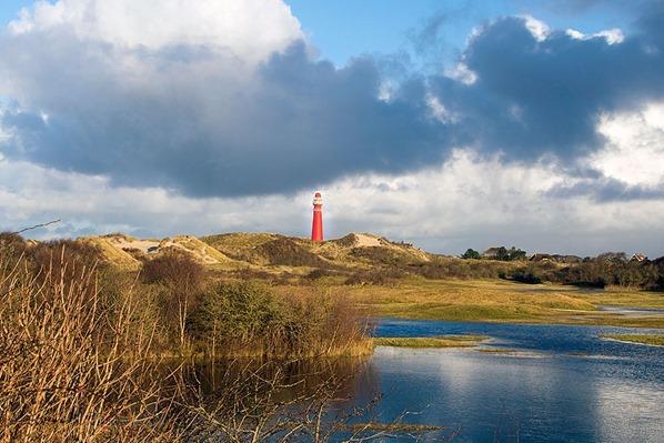 Nordsee-Leuchtturm-Schiermonnikoog-Holland