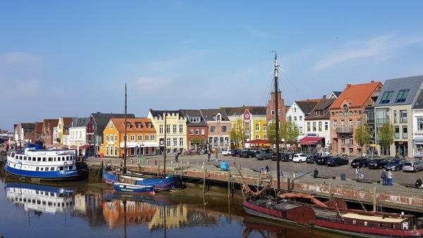 Schleswig Holstein Hafen Husum Nordfriesland Nordsee Urlaub
