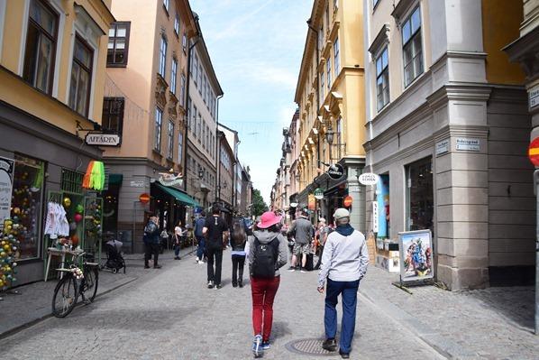 Stockholm Sehenswürdigkeiten Shopping Atlstadt Gamla Stan Schweden Ostsee Kreuzfahrt