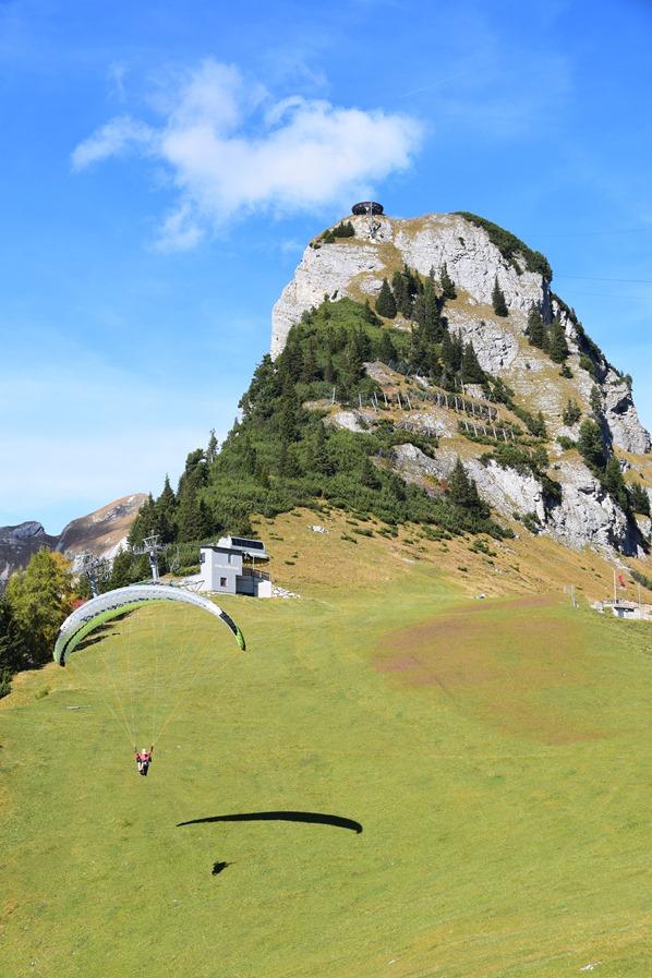 Rofan Achensee wandern Bergwanderung Gleitschirm Gschöllkopf Tirol Österreich