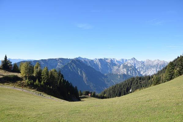 Rofan Achensee wandern Aussicht Bergwanderung Tirol Österreich