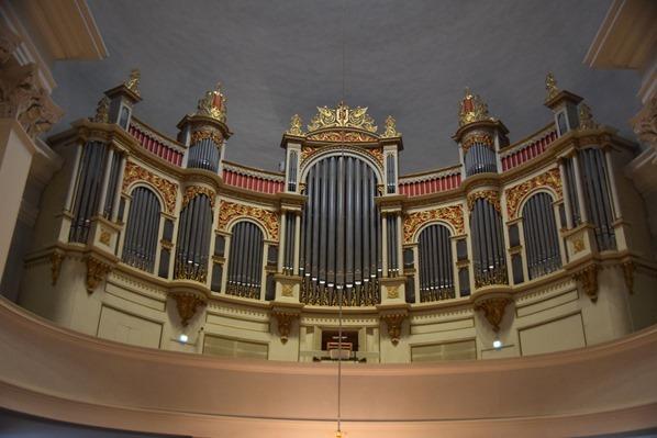 Orgel im Dom von Helsinki Sehenswürdigkeiten Finnland Minikreuzfahrt Ostsee Baltikum