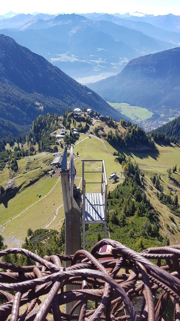 Rofan Achensee wandern Aussichtsplattform Adlerhorst Gschöllkopf Tirol Österreich