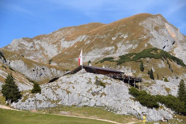 Rofan Achensee wandern Mauritzalm Tirol Österreich