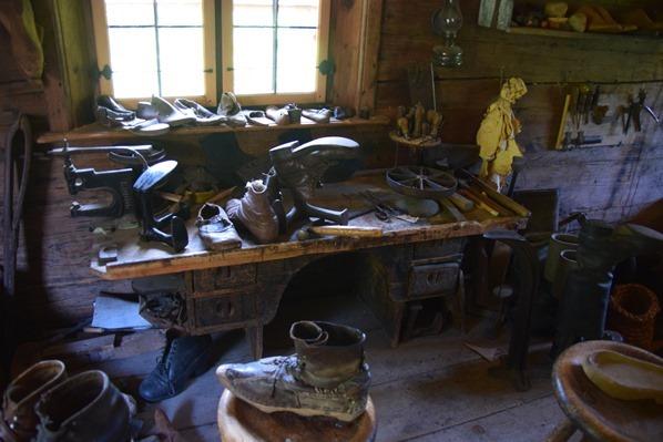Handwerkerhaus Schusterei Markus Wasmeier Museum Freilichtmuseum Schliersee
