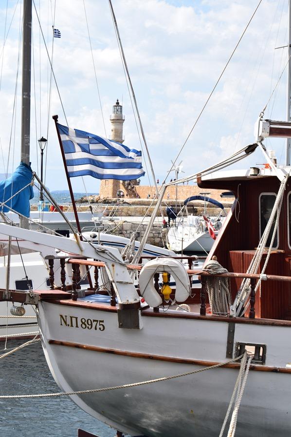 Alter Hafen Chania Kreta Griechenland