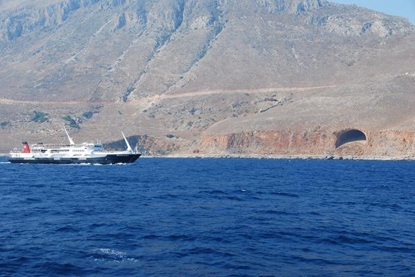 Ausflugsboot Gramvousa Balos Kreta Chania Griechenland