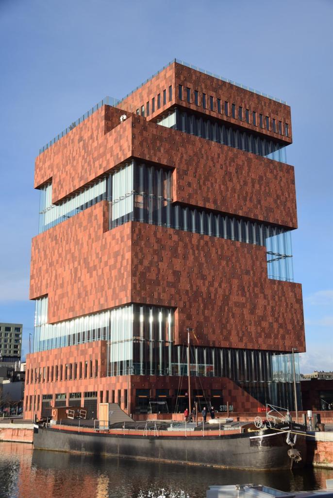 26 museum aan de stroom antwerpen belgien a rosa flusskreuzfahrt rhein