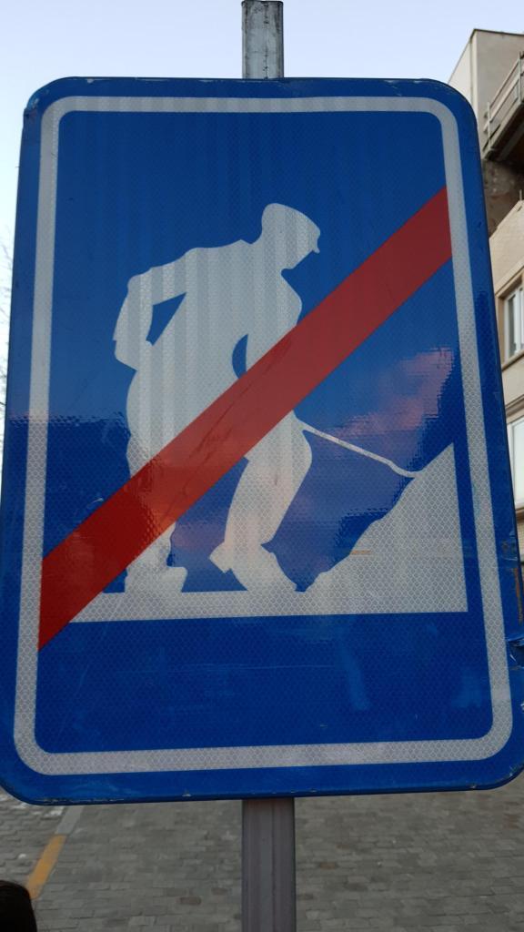 32 baustellenschild antwerpen belgien a rosa flusskreuzfahrt rhein