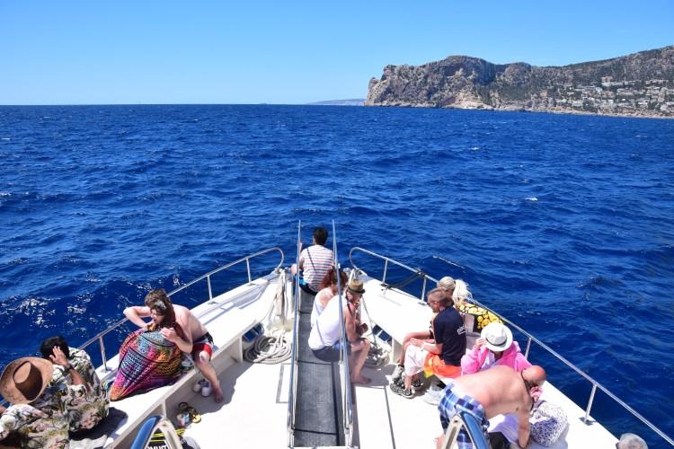 Sa Dragonera Dracheninsel Mallorca Ausflugsboot Atalaya II Bug Ausflug mit Kindern