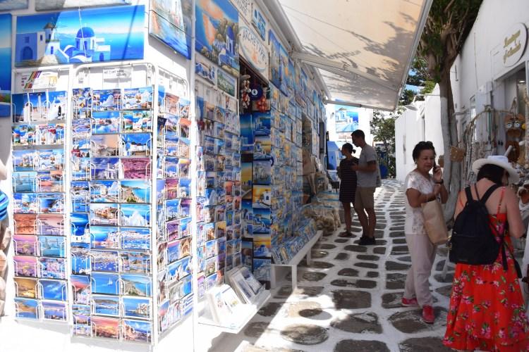 Familienkreuzfahrt Costa Mykonos Stadt Sightseeing Shopping Griechenland Kreuzfahrt