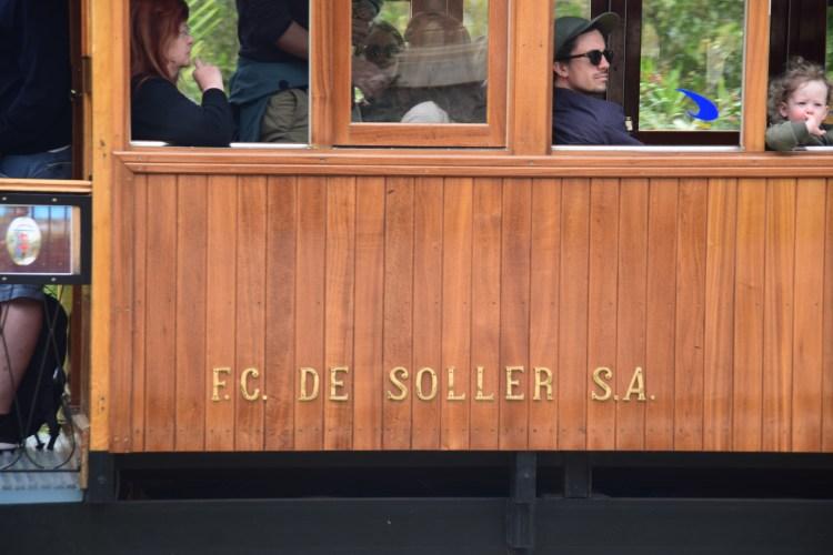 16 tranvia strassenbahn soller mallorca balearen spanien