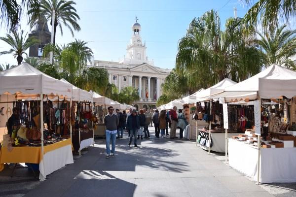 markt plaza de san juan de dios cadiz andalusien spanien aida familien kreuzfahrt